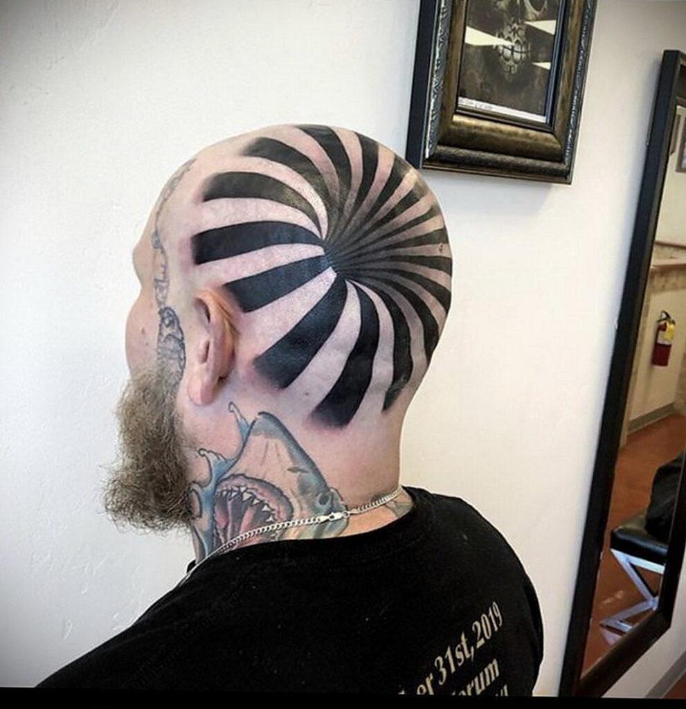 Фото интересного рисунка татуировки 08.01.2021 №1028 -interesting tattoo- tatufoto.com