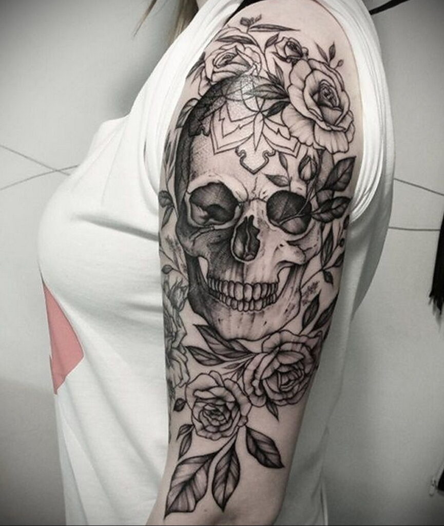 Фото интересного рисунка татуировки 08.01.2021 №1071 -interesting tattoo- tatufoto.com