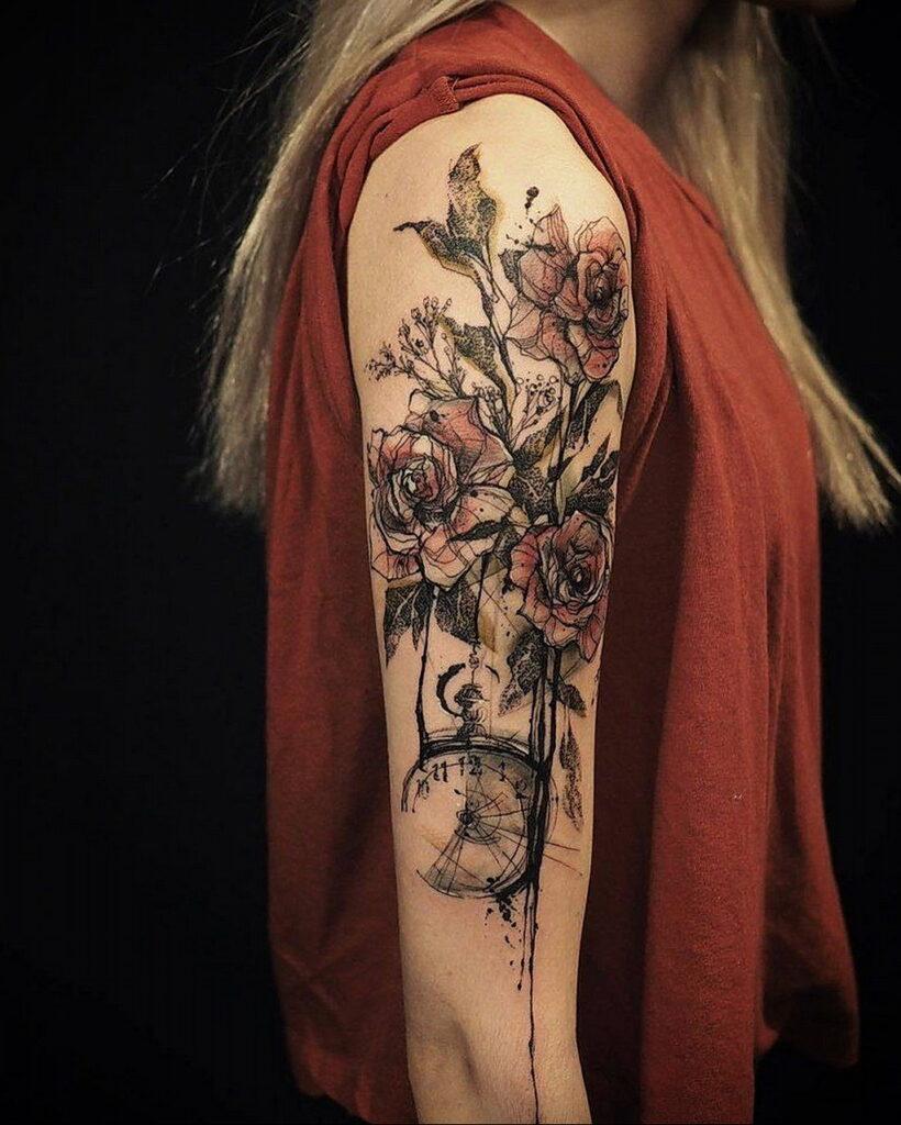 Фото интересного рисунка татуировки 08.01.2021 №1114 -interesting tattoo- tatufoto.com