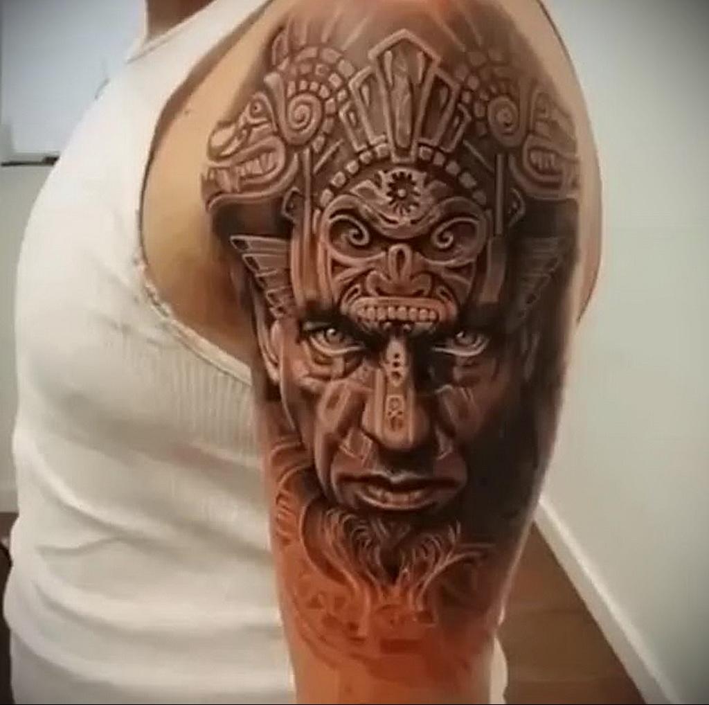 Фото интересного рисунка татуировки 08.01.2021 №1128 -interesting tattoo- tatufoto.com