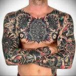 Фото интересного рисунка татуировки 08.01.2021 №12126 -interesting tattoo- tatufoto.com