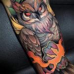 Фото интересного рисунка татуировки 08.01.2021 №12141 -interesting tattoo- tatufoto.com