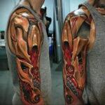 Фото интересного рисунка татуировки 08.01.2021 №12194 -interesting tattoo- tatufoto.com