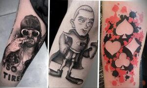 Фото интересного рисунка татуировки 08.01.2021 №12302 -interesting tattoo- tatufoto.com