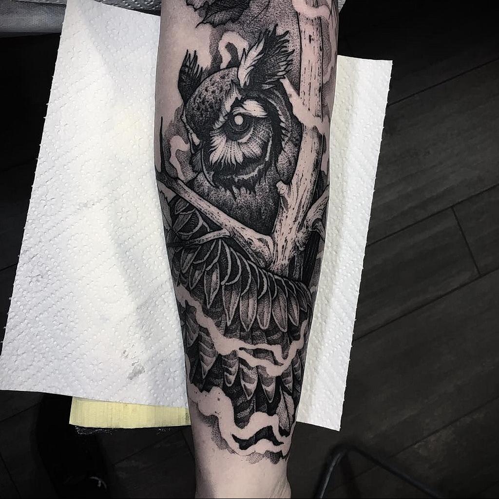 Фото интересного рисунка татуировки 08.01.2021 №1403 -interesting tattoo- tatufoto.com