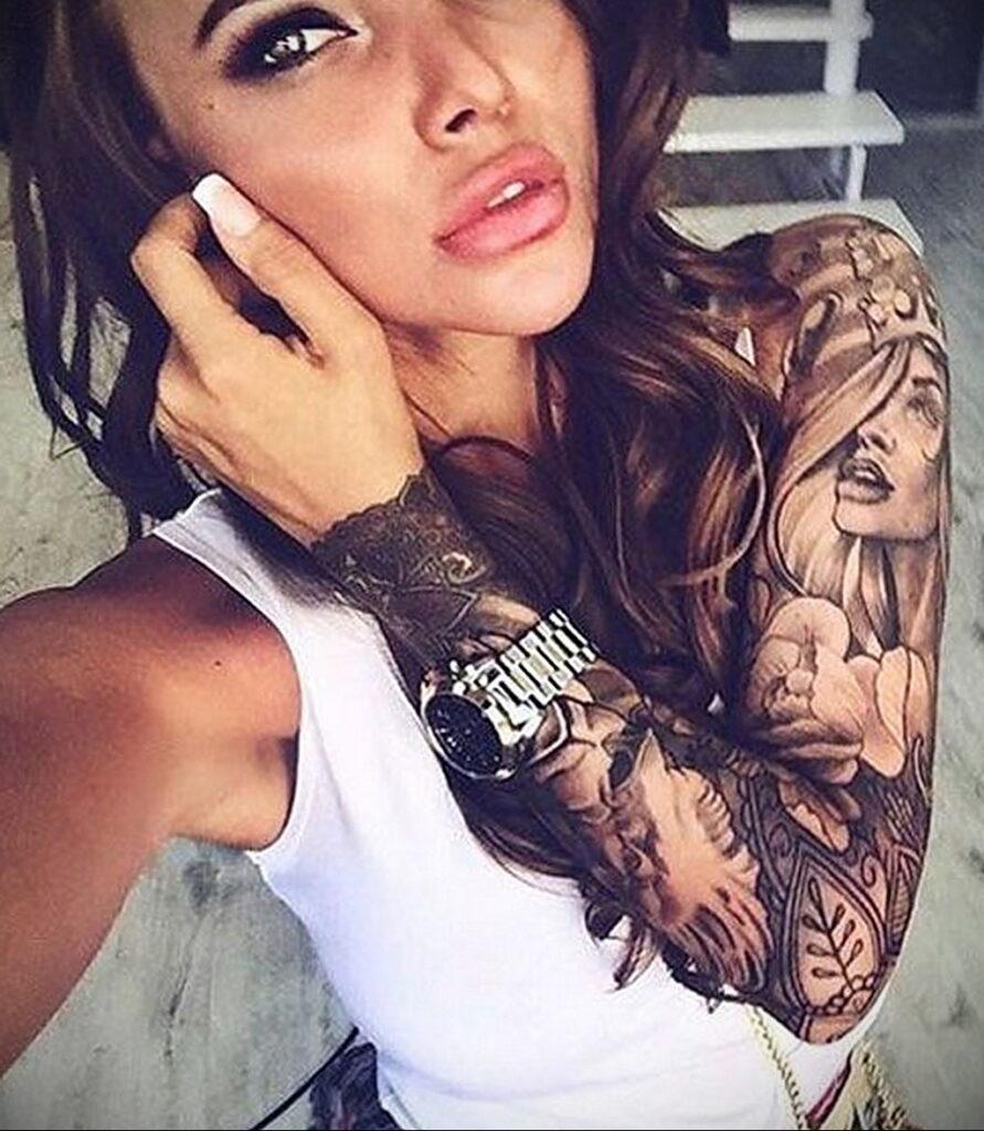 Фото интересного рисунка татуировки 08.01.2021 №1414 -interesting tattoo- tatufoto.com