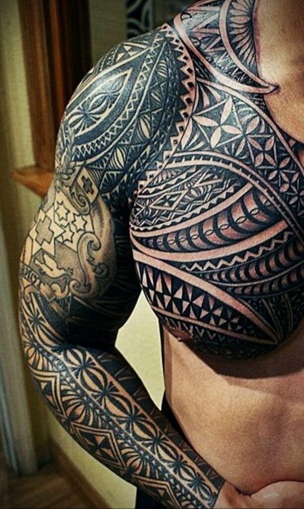 Фото интересного рисунка татуировки 08.01.2021 №1417 -interesting tattoo- tatufoto.com