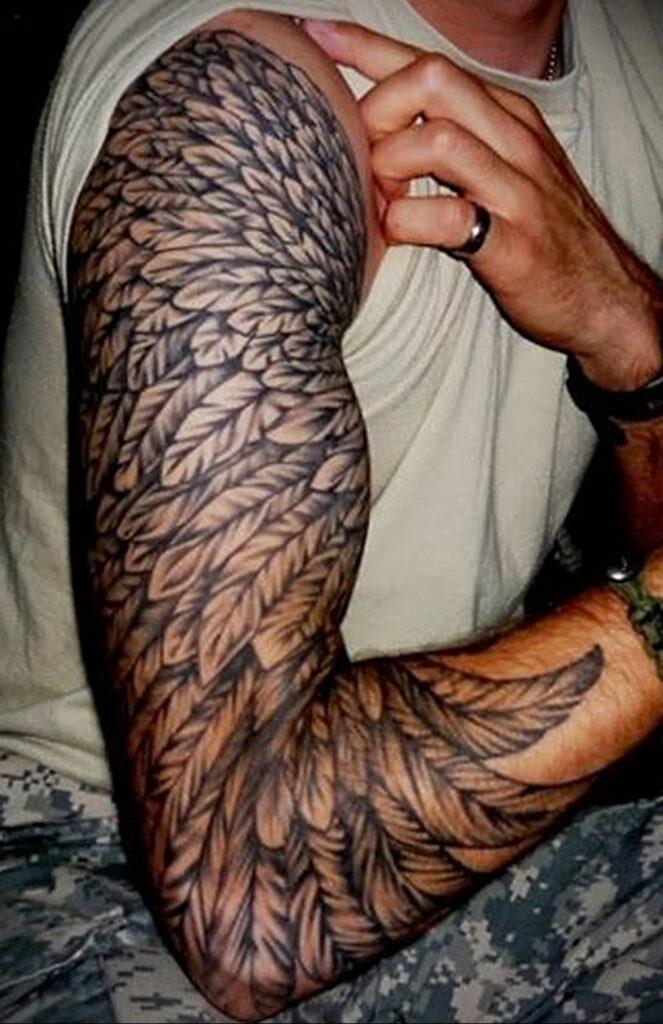 Фото интересного рисунка татуировки 08.01.2021 №1540 -interesting tattoo- tatufoto.com