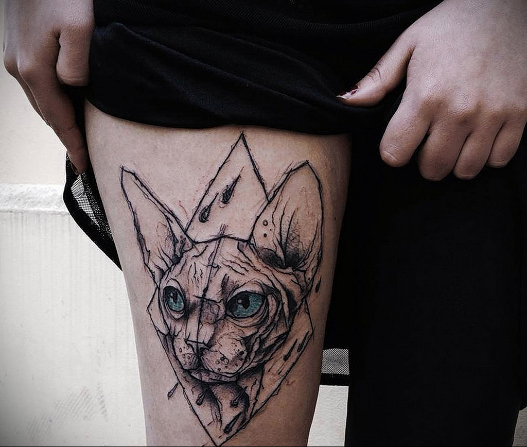Фото интересного рисунка татуировки 08.01.2021 №1541 -interesting tattoo- tatufoto.com