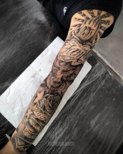 Фото мужского рисунка тату 09.01.2021 №10360 -male tattoo- tatufoto.com