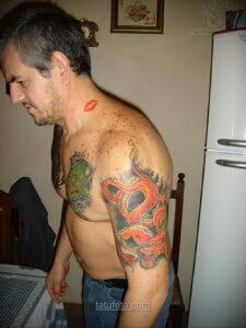 Фото мужского рисунка тату 09.01.2021 №10367 -male tattoo- tatufoto.com