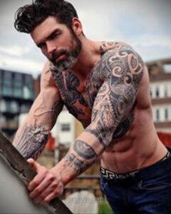 Фото мужского рисунка тату 09.01.2021 №10379 -male tattoo- tatufoto.com