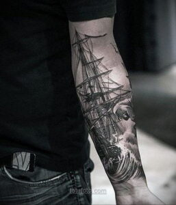 Фото мужского рисунка тату 09.01.2021 №10380 -male tattoo- tatufoto.com