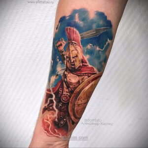Фото мужского рисунка тату 09.01.2021 №10413 -male tattoo- tatufoto.com