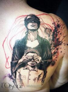 Фото мужского рисунка тату 09.01.2021 №10417 -male tattoo- tatufoto.com