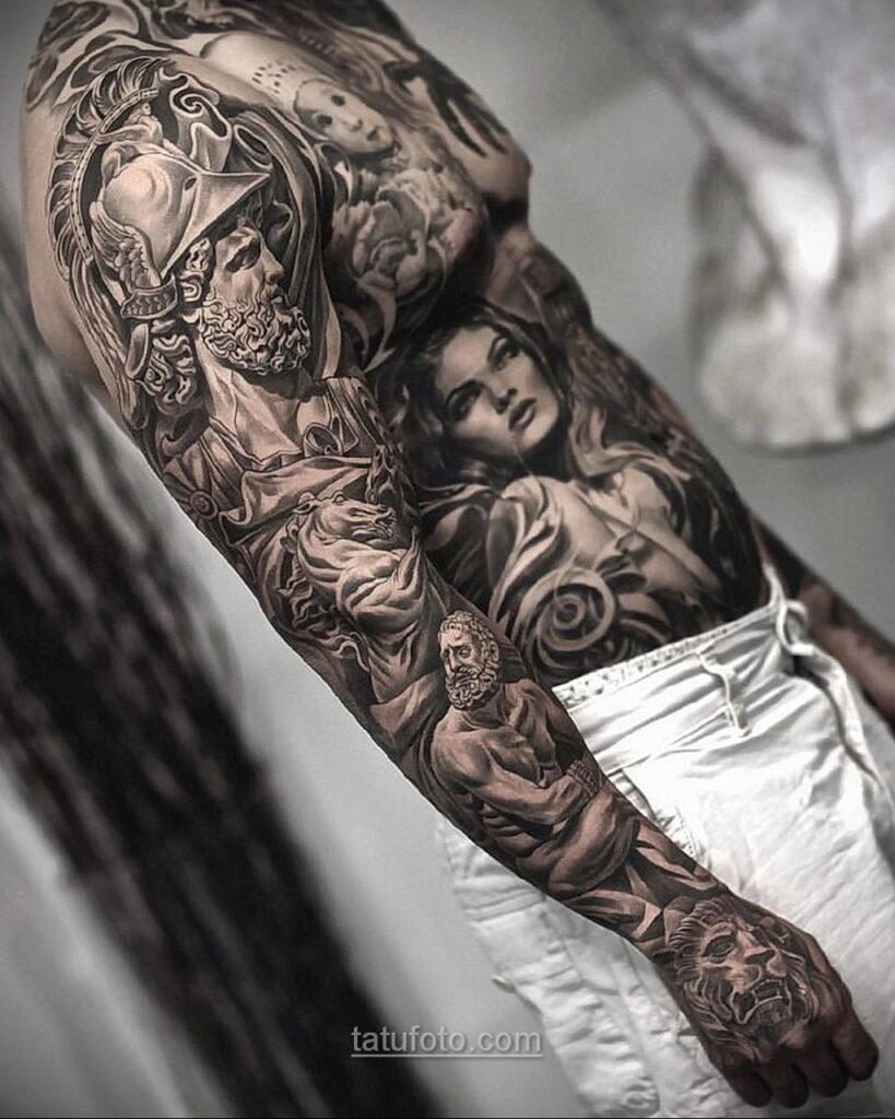 Фото мужского рисунка тату 09.01.2021 №10434 -male tattoo- tatufoto.com