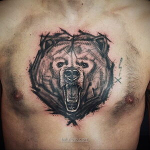 Фото мужского рисунка тату 09.01.2021 №10438 -male tattoo- tatufoto.com