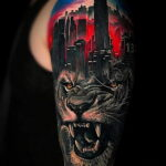 Фото мужского рисунка тату 09.01.2021 №10537 -male tattoo- tatufoto.com