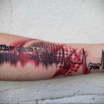 Фото мужского рисунка тату 09.01.2021 №10588 -male tattoo- tatufoto.com