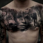 Фото мужского рисунка тату 09.01.2021 №10602 -male tattoo- tatufoto.com