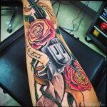 Фото мужского рисунка тату 09.01.2021 №10609 -male tattoo- tatufoto.com