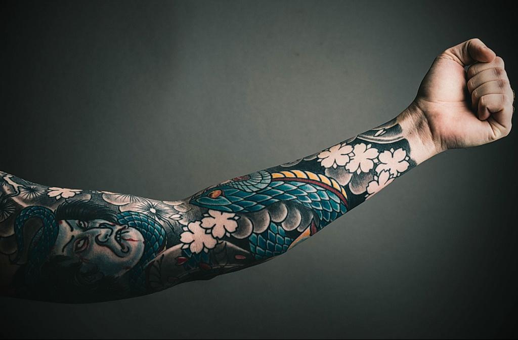 Фото правильный уход за тату 26.01.2021 №0009 - proper tattoo care - tatufoto.com