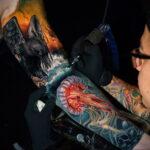Фото правильный уход за тату 26.01.2021 №0013 - proper tattoo care - tatufoto.com