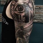 Фото пример рисунка для тату часы 19.01.2021 №0013 - tattoo clock - tatufoto.com