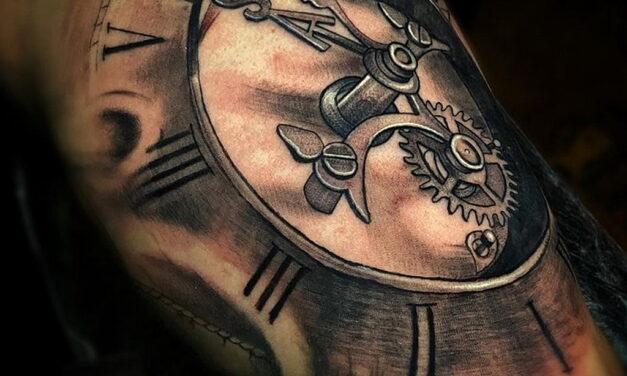 Значение рисунка татуировки Часы