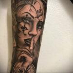 Фото пример рисунка для тату часы 19.01.2021 №0076 - tattoo clock - tatufoto.com