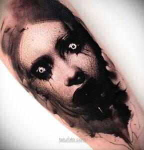 Фото страшного рисунка тату 10.01.2021 №10002 -scary tattoo- tatufoto.com