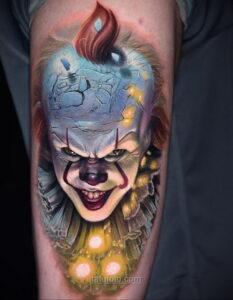 Фото страшного рисунка тату 10.01.2021 №10003 -scary tattoo- tatufoto.com