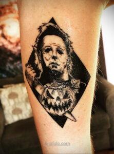 Фото страшного рисунка тату 10.01.2021 №10006 -scary tattoo- tatufoto.com