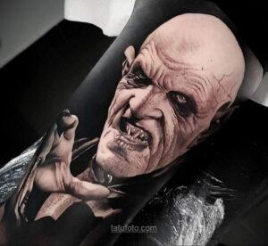 Фото страшного рисунка тату 10.01.2021 №10020 -scary tattoo- tatufoto.com