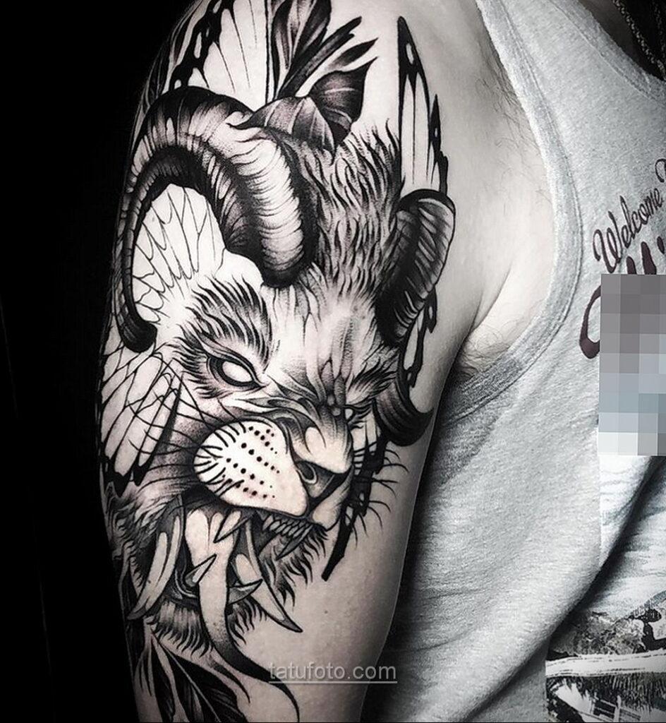 Фото страшного рисунка тату 10.01.2021 №10033 -scary tattoo- tatufoto.com
