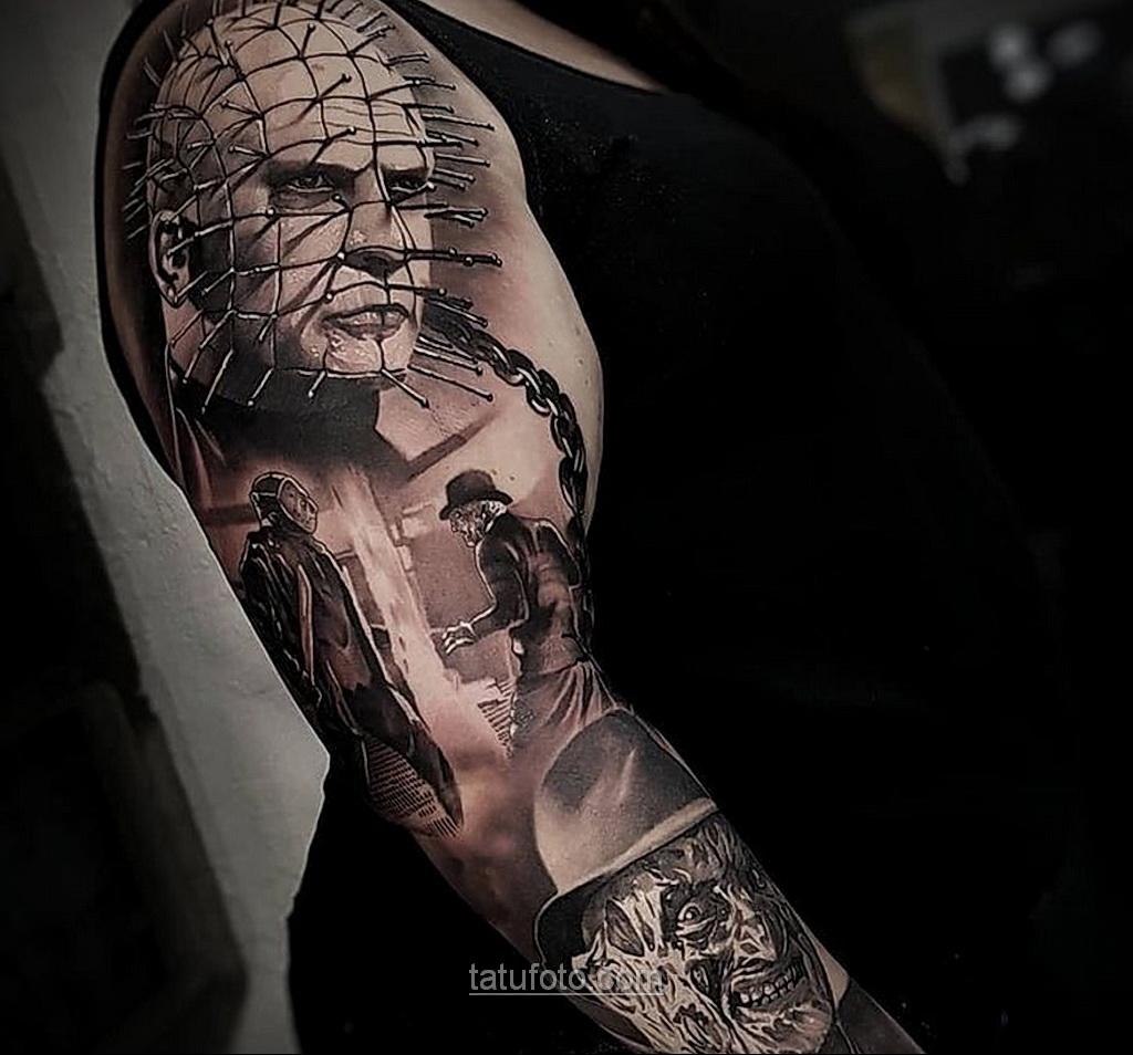 Фото страшного рисунка тату 10.01.2021 №10038 -scary tattoo- tatufoto.com