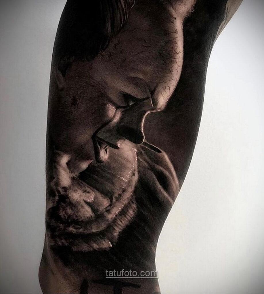Фото страшного рисунка тату 10.01.2021 №10045 -scary tattoo- tatufoto.com