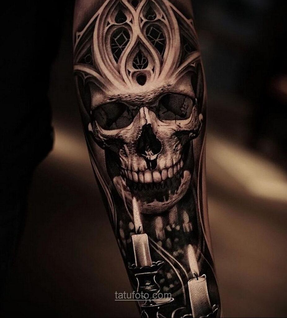Фото страшного рисунка тату 10.01.2021 №10046 -scary tattoo- tatufoto.com