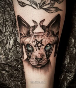Фото страшного рисунка тату 10.01.2021 №10050 -scary tattoo- tatufoto.com
