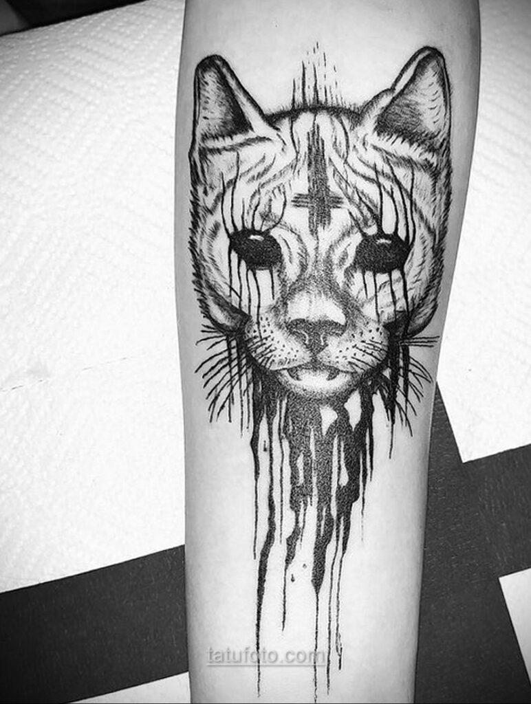 Фото страшного рисунка тату 10.01.2021 №10051 -scary tattoo- tatufoto.com
