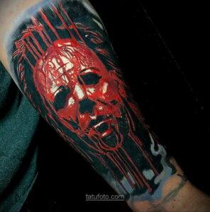 Фото страшного рисунка тату 10.01.2021 №10059 -scary tattoo- tatufoto.com