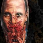 Фото страшного рисунка тату 10.01.2021 №10061 -scary tattoo- tatufoto.com