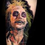 Фото страшного рисунка тату 10.01.2021 №10064 -scary tattoo- tatufoto.com