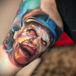 Фото страшного рисунка тату 10.01.2021 №10065 -scary tattoo- tatufoto.com