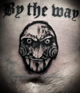 Фото страшного рисунка тату 10.01.2021 №10070 -scary tattoo- tatufoto.com