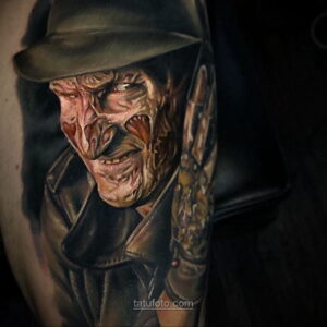 Фото страшного рисунка тату 10.01.2021 №10072 -scary tattoo- tatufoto.com