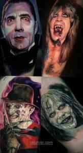 Фото страшного рисунка тату 10.01.2021 №10073 -scary tattoo- tatufoto.com