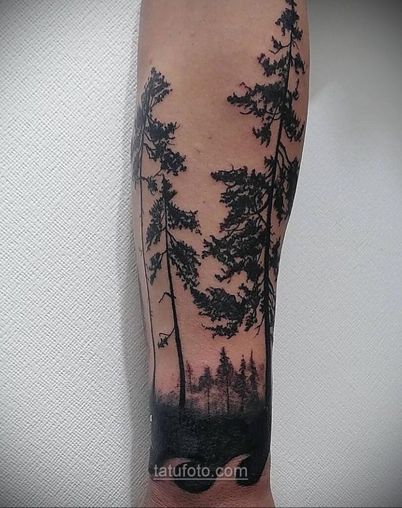 Фото тату про природу 10.01.2021 №10027 -tattoo about nature- tatufoto.com