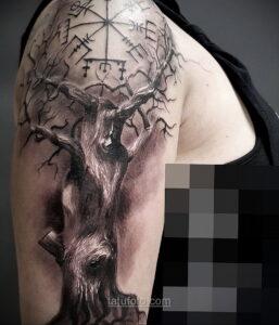 Фото тату про природу 10.01.2021 №10049 -tattoo about nature- tatufoto.com