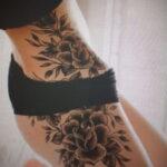 Фото тату роза для девушки 25.01.2021 №0017 - rose tattoo for girls - tatufoto.com